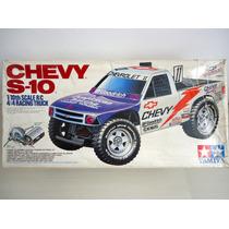 Antigo Rc Tamiya Chevy S-10 Escala 1/10 Nunca Usado ! !