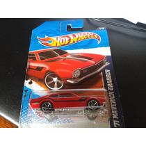 Hot Wheels 2010 71 Ford Maverick Grabber G 1:64