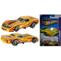 Hot Wheels 2013, 60th Corvette, 76 Greenwood Corvette