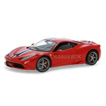 Ferrari 458 Speciale Hot Wheels Elite 1:18 Vermelho Bly31