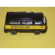 Vw Kombi T-2 Escolar Custom. Matchbox Kombi 1.64. Único Ml.