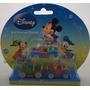 Kit 3 Miniaturas Diecast Disney 1/64 Mickey Pateta Yellow