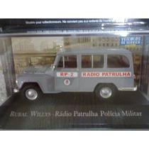 Miniatura: Willys Rural Radio Patrulha + Fasciculo