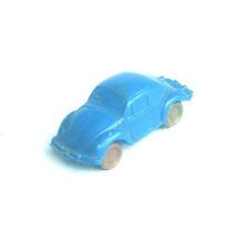 Volkswagem Fusca -brinquedo Em Plastico Bolha - 7 Cm
