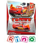 Disney Cars Lightning Mcqueen With Cone - Mattel