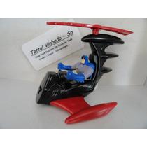 Brinquedo Aviao Do Batman Dc Comics 9cm 08/12 Original