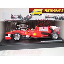 1:18 Hotwheels Ferrari F10 2010 Felipe Massa Formula 1