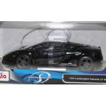 Carrinho Maisto Lamborghini Gallardo Lp 560-4 Escala 1:24