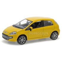 Fiat Punto 2012 1:43 Norev 7710613-amarelo