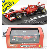 1/43 Hot Wheels Ferrari 138 Fernando Alonso Vice F1 2013