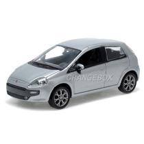 Fiat Punto 2012 1:43 Norev 7710613-prata
