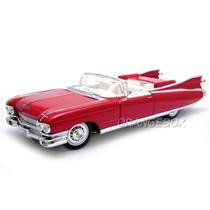 Cadillac Eldorado Biarritz 1959 1:18 Maisto 36813-vermelho