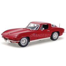 Chevrolet Corvette 1965 Maisto 1:18 31640-vermelho