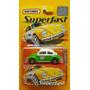 Matchbox Superfast Vw Fusca 1300 Táxi Lacrado Cartela 1.64.