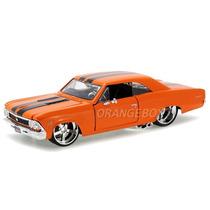 Chevrolet Chevelle Ss 396 1966 1:24 Maisto 31333-laranja
