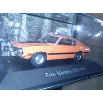 Colecao Carros Inesqueciveis Do Brasil Ed.4 Ford Maverick Gt