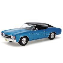 Chevrolet Chevelle Ss 454 1971 Maisto 1:18 31890-azul