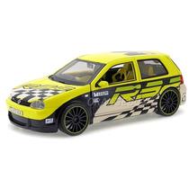 Volkswagen Golf R32 All Stars Maisto 1:24 31043-amarelo