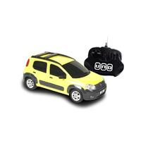 Miniatura De Fiat Novo Uno Controle Remoto 1:18 Cks Toys