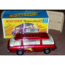 Mb Matchbox Lesney Superfast Freeman Inter City #22 C/ Box *