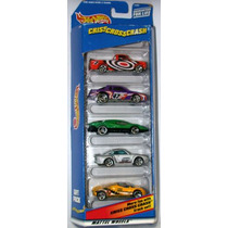 Hot Wheels 5 Pack Criss Cross Crash (lacrado)
