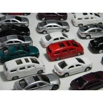 Lote 10 Miniaturas Automóveis 1:75 ~ 1:76 Figuras Maquete