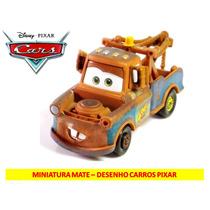 Miniatura Mate - Desenho Carros Disney Pixar - Pronta Entreg