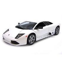 Lamborghini Murciélago Lp640 2007 1:18 Maisto 31148-branco