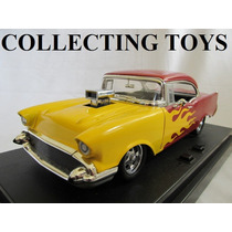Chevy Bel Air 57 - Com Som E Luz - Hot Rod - 1:18 - Ertl