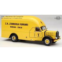 Miniatura Exoto Caminhão Ferrari Transporter 1934 Alfa 1/43