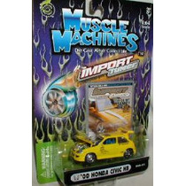 Muscle Machines 2000 Honda Civic Hb (lacrado, Raro)