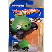 Porquinho Verde Angry Birds Hotwheels New Models 2012 Porco