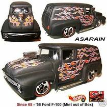 Ford Panel 56 Preta Since 68 - Hot Wheels 40 Anos 1/64