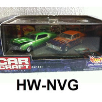 Hot Wheels 100% Set Car Craft 1969 Olds / 1963 Plymouth