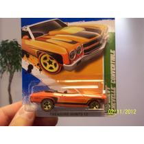 Hot Wheels - Treasure Hunts ´70 Chevy Chevelle Convertible