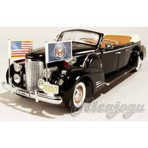 Cadillac V-16 Limousine Presidencial Eua 1938 1/24 Usa Rara