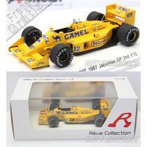1/43 Rêve Lotus Honda 99t Ayrton Senna 2nd Suzuka F1 1987 Ad