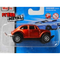 (bx11) Maisto Fresh Metal Vw Fusca Baja Volkswagen # Novo