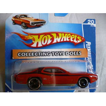 Hot Wheels (335) Plymouth Gtx- Collecting Toys Dolls