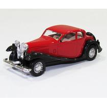 Guisval 1:43 Clássicos Fúria - Bugatti T50 - Vermelho