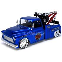 Chevy Stepside Tow Truck 1955 1:24 Jada Toys #96401-azul