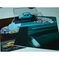 Coleção Carros Inesquecíveis Do Brasil Altaya Vw Fusca 1961