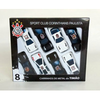 Lindíssimo Kit Oficial Com 8 Carrinhos Do Corinthians !!!