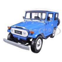 1/24 Toyota Bandeirante Fj40 Land Cruiser Jipe 79323 Azul