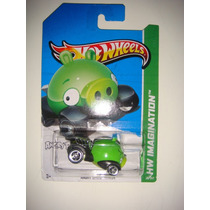 = Hot Wheels = Angry Birds Minion Porco Verde Estilingue