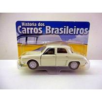 Dauphine Gordini Renault (clássicos Nacionais) Miniatura