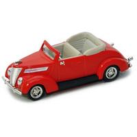 Miniatura De Ford V8 Conversível 1937 1:43 Yat Ming 94230