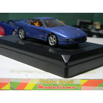 Carro Ferrari 456 Gt Escala 1:43 Bburago Metal