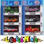 M2 Mopar Garage Set Exclusivo Walmart 6 Minis 1:64 Acrílico