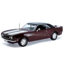 Chevrolet Camaro Z/28 Coupe 1968 1:18 Maisto 31685-marrom